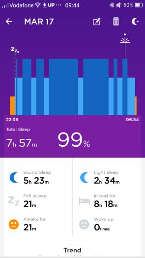 Up Move sleep