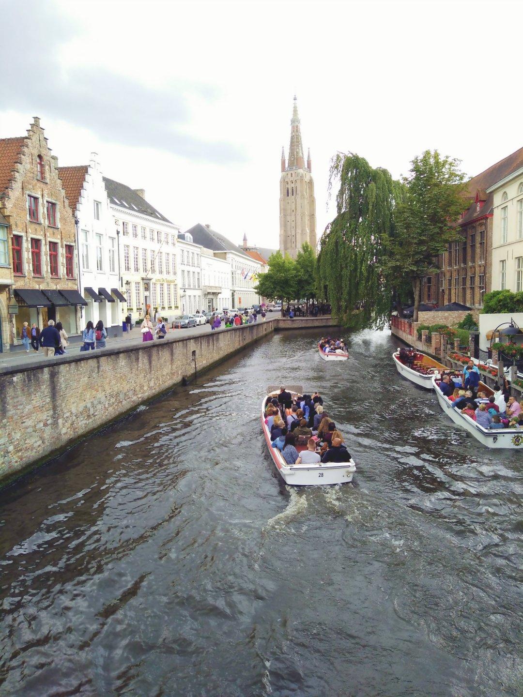 Bruge Belgium Canal 2
