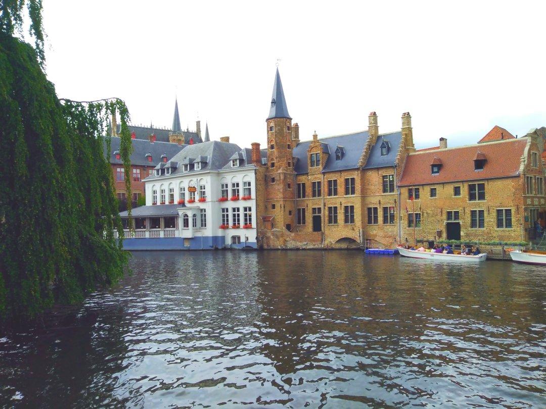 Bruge Belgium Canal