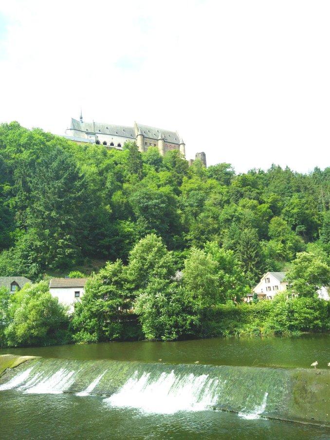 Luxembourg Vianden castle