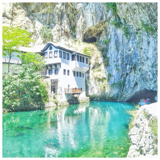 Blagaj Bosnia Instagrammable - Enjoy the Adventure Travel Blog