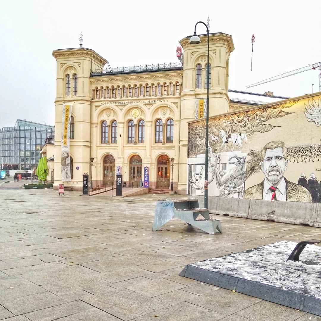 Nobel Peace Museum in Oslo Norway.jpg